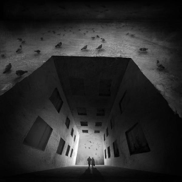 The Phantom of Liberty, photo manipulation by Marcin Sacha