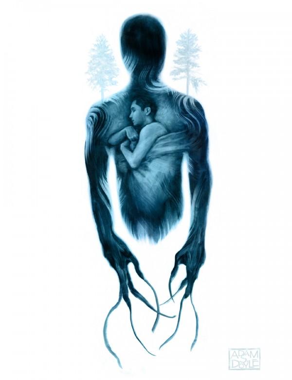 Night Terrors Series, illustration by Adam S Doyle
