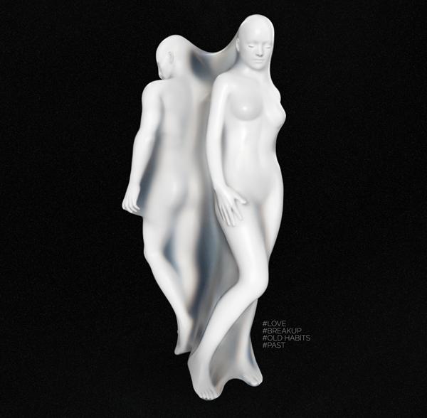 #Captive by..., digital art by Ahmad Asaad