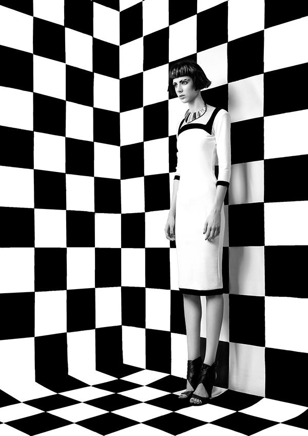Claudia Mileji campaign, photography by Attila Udvardi