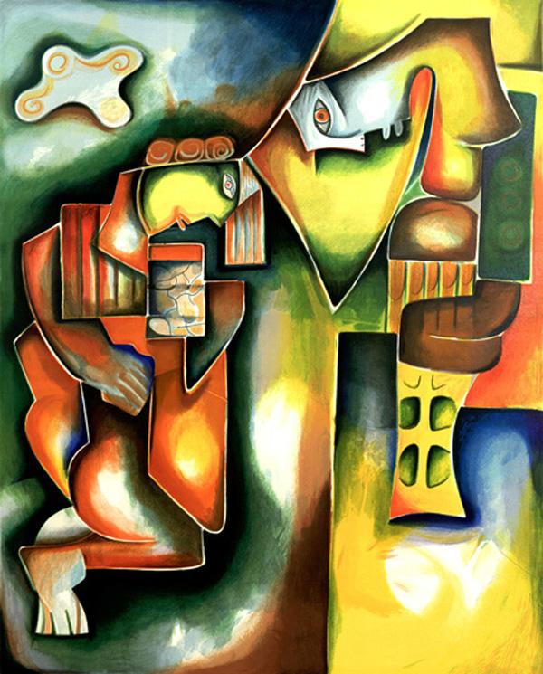 Alexandra Nechita, paintings