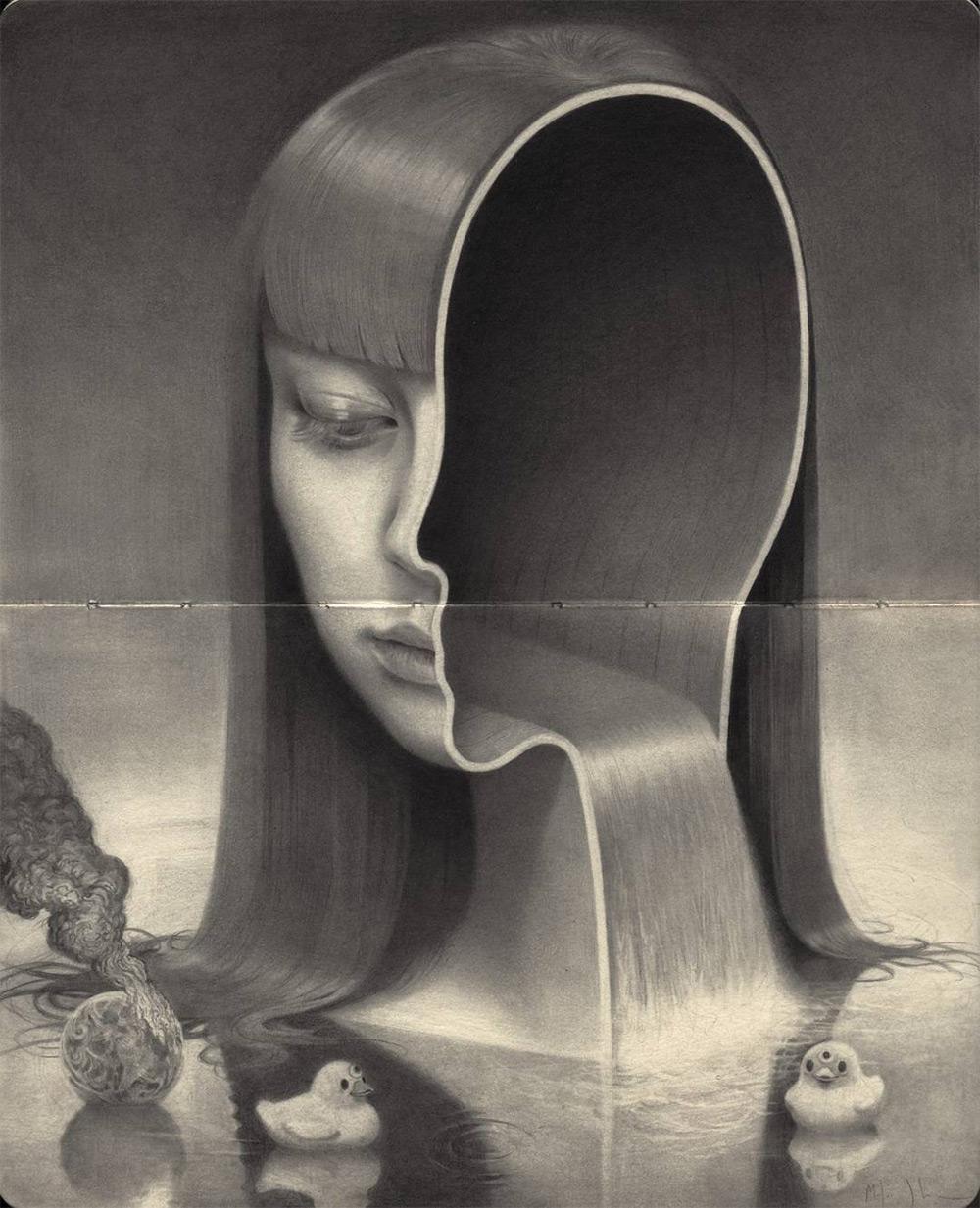 Deform, Divide, Attract, Recur - Transformations series by Miles Johnston
