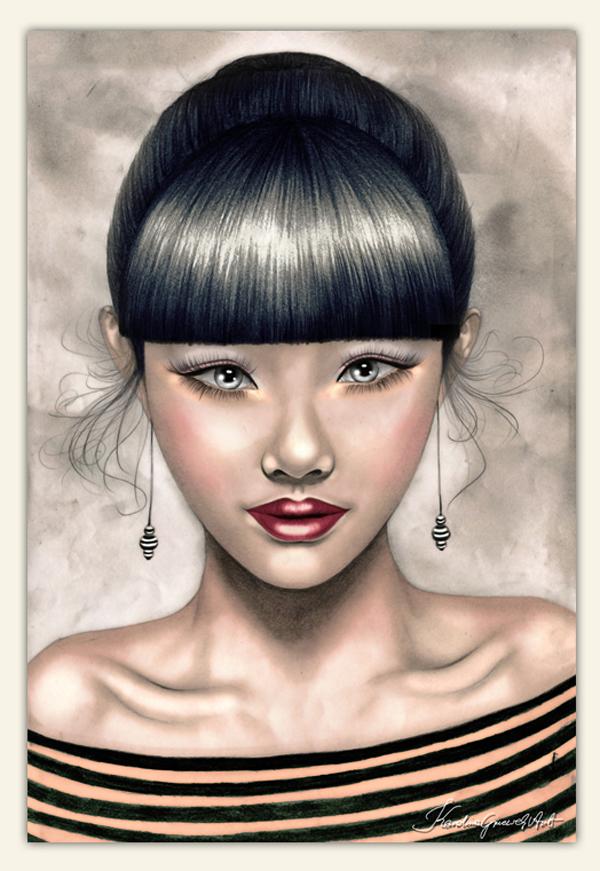 Digital art by Karo Gee