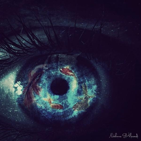 Digital art by Nurhanne El-Massoudi