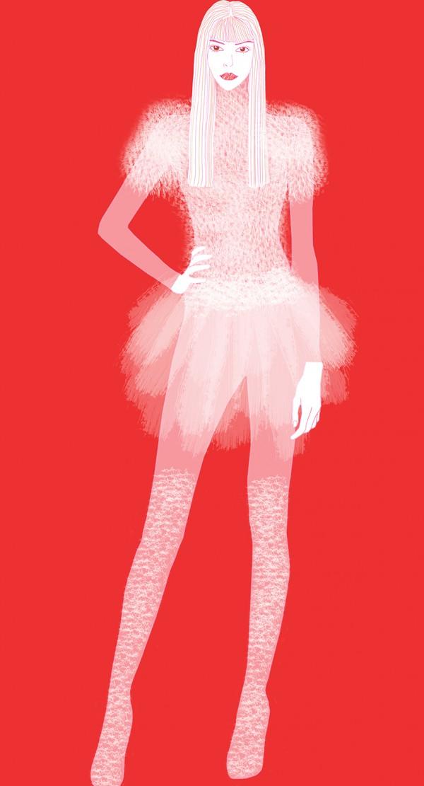 Girls in White Dresses, costume design by Luise Gasparjan