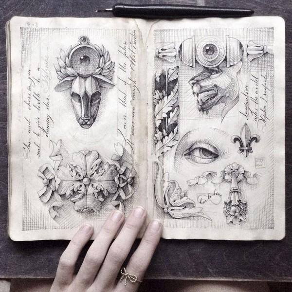 Elena Limkina artist's diary