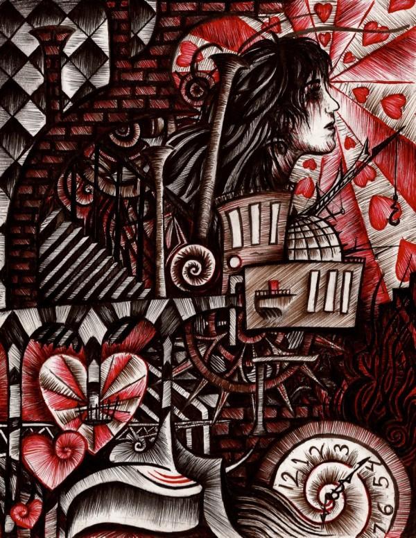 Faith in Chaos, illustration by Skyler Brown