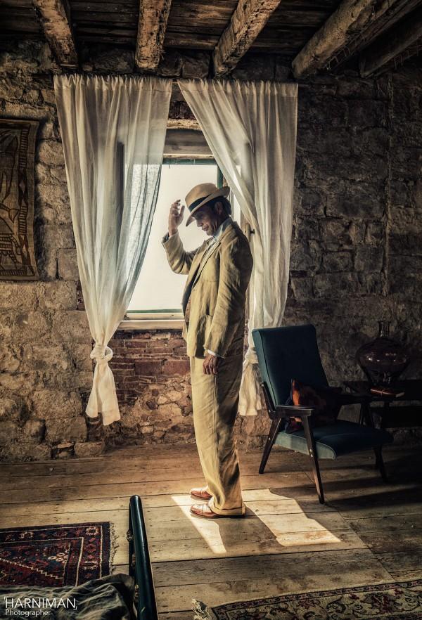 Mads Mikkelsen, Le Fantome & Ford Edge, photography by Nigel Harniman