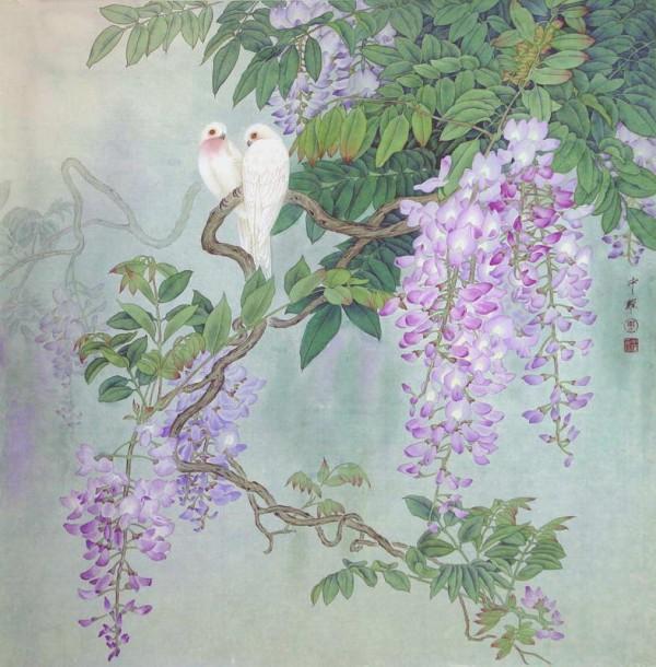 Paintings by Zhou Zhongyao
