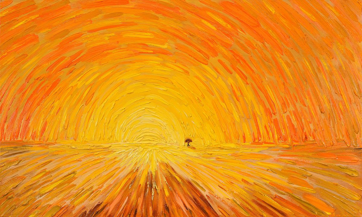 The Road of Love, paintings by Roman Konovalov