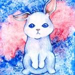 Galaxy Animals, illustration by Melissa Bartlett