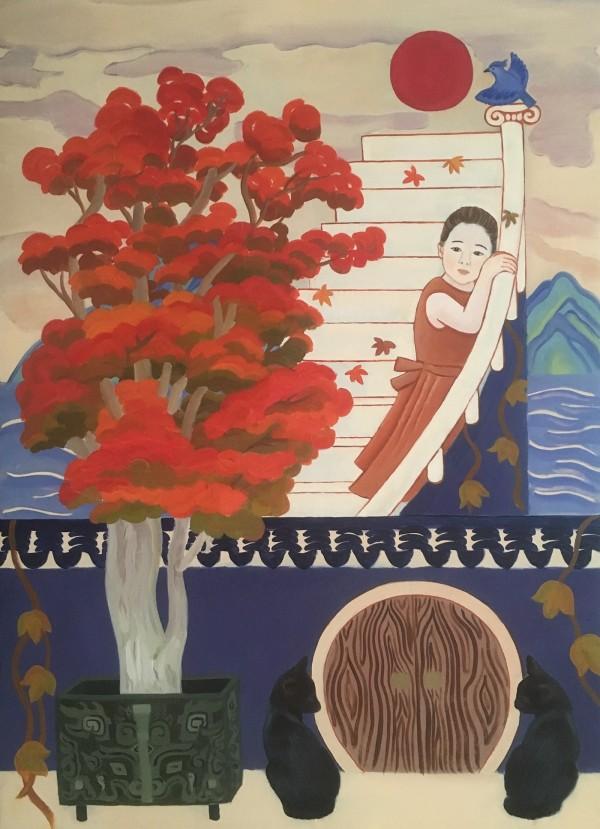 Otherworldly Tales, illustration by Gina Wang