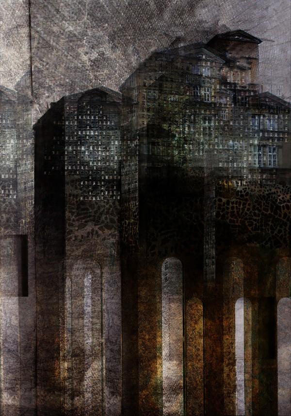 Rebuilding Reality, illustration by Maciek Zieliński