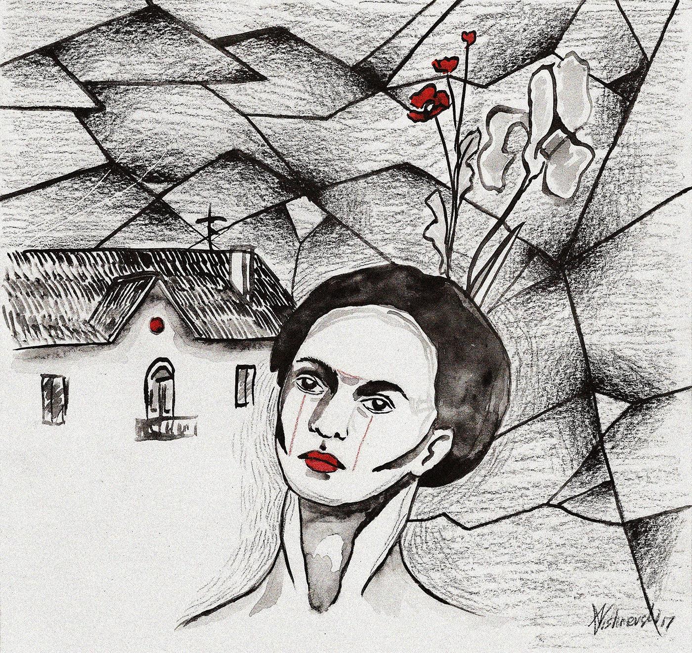 Alexandrina Vi, illustration