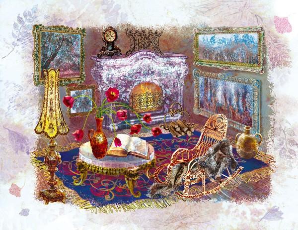 Illustrations for series of books by Nadiia Doicheva