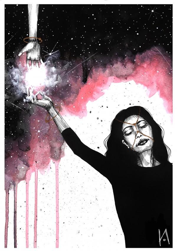 Inktober 2017, illustration by Koletta Anastasia