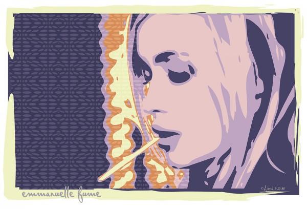 Les belles, digital art by Ronaldo Farelli