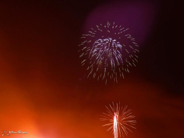 Fuegos artificiales / Fireworks, photography by Fran Marquez Gago