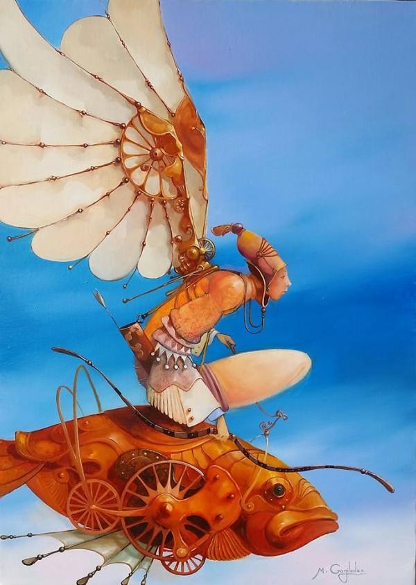 Paintings by Merab Gagiladze