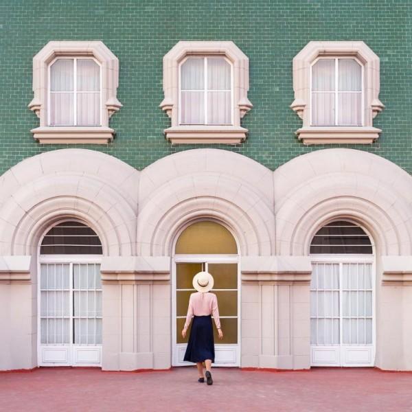 Architectural self-portraits by Daniel Rueda and Anna Devís