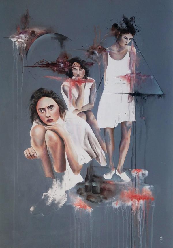 Oil paintigs portraits by Rabia Aydogan