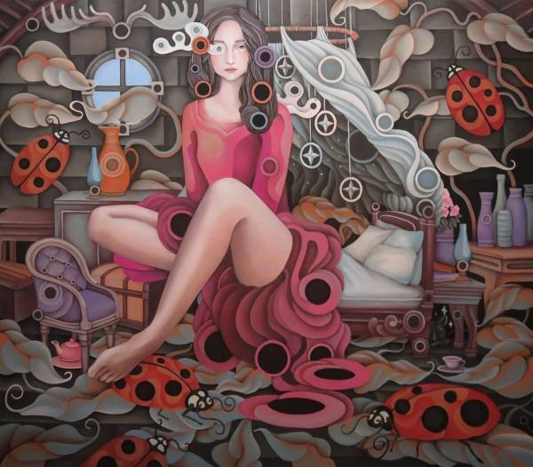 Paintings by Iyan de Jesus