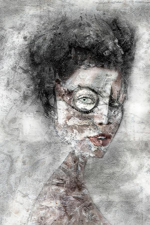 Digital art by Bader Qabazard