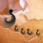Eggshells, digital art by Annette Emannuel