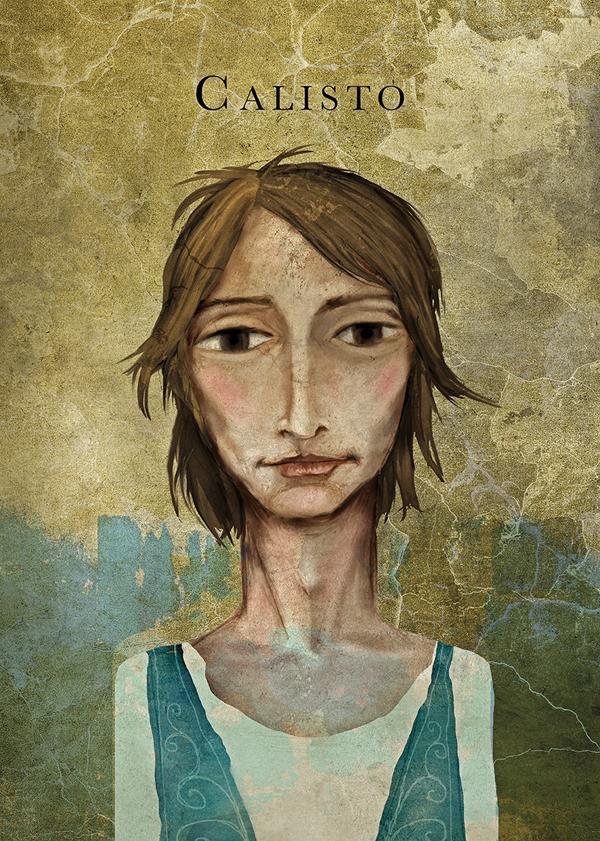 La Celestina, illustration by Jaume Marco