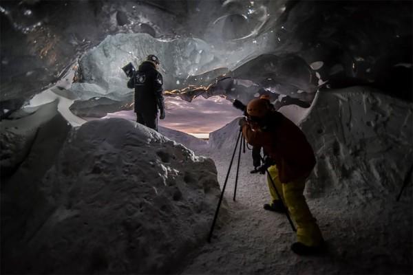 Mystical ice caves of Iceland, photography by Matěj Kříž