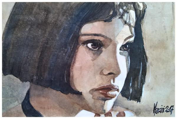 Watercolor paintings by Alberto Mancini
