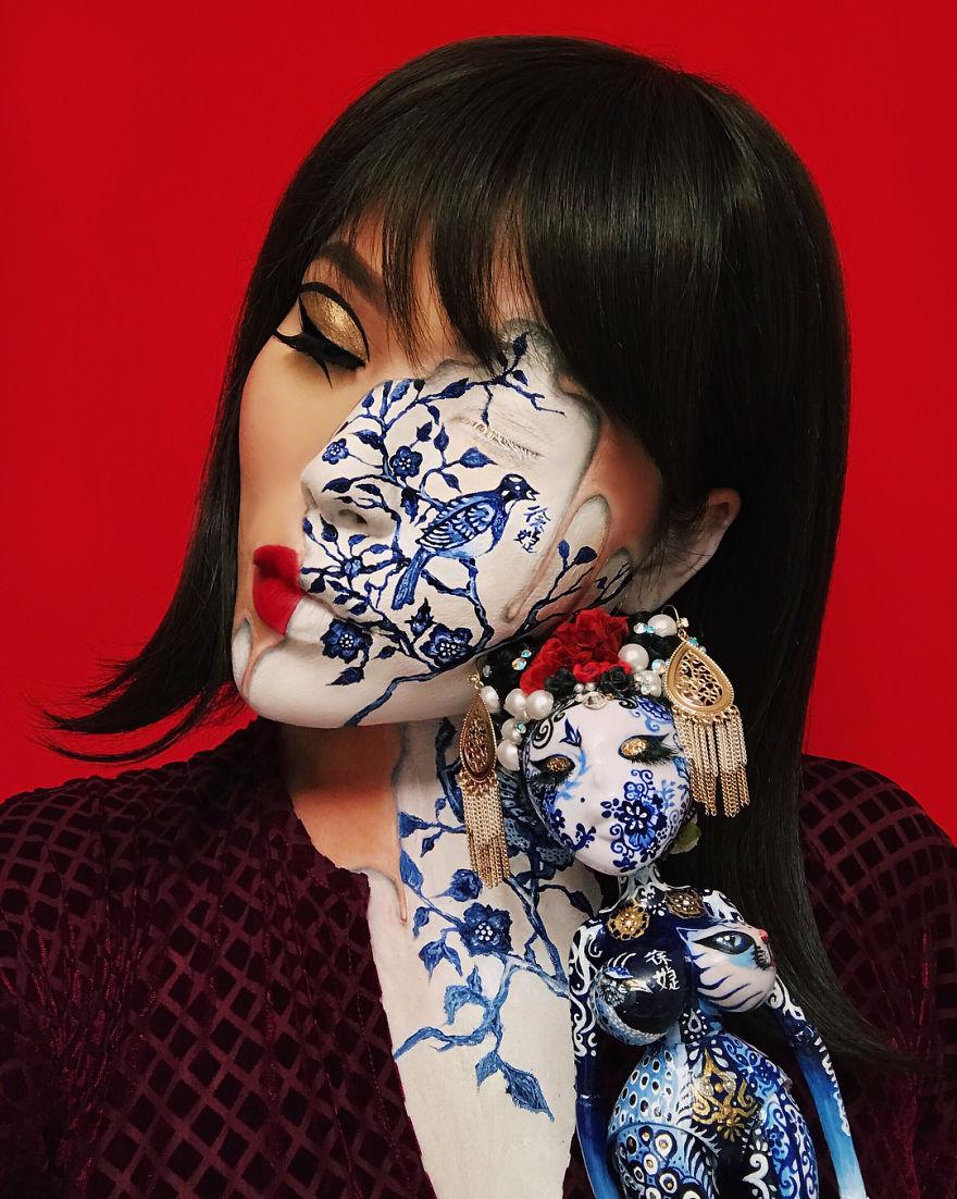 Mimi Choi, Optical illusions with makeup