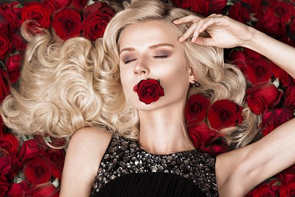 Rose luxury, fashion photography by Nikita & Olga Kobrin