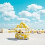 Cabana: minimalist and bold landscapes by David Behar