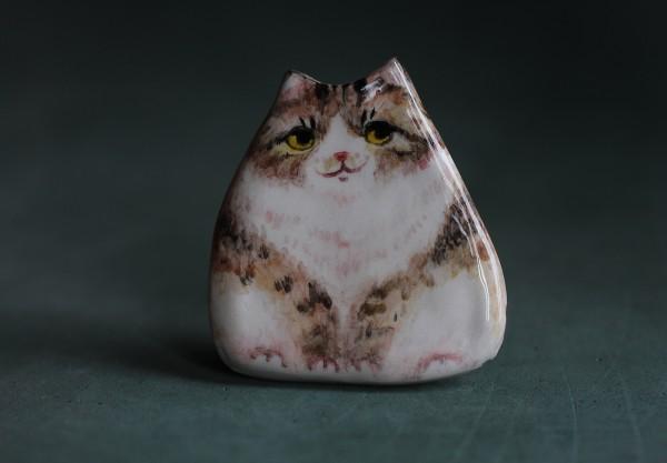 Ceramic fridge magnets made by Ann Baratashvili