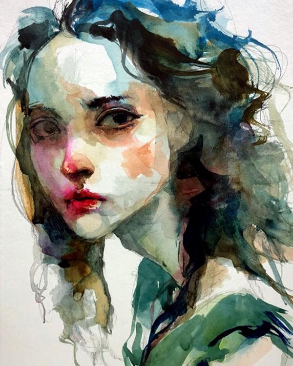 Blue Spring, illustration by Byung Jun Ko