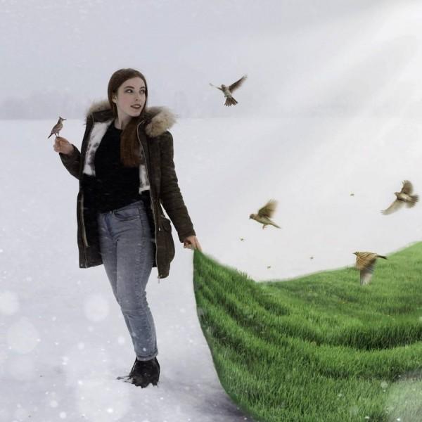Dreamlike photo manipulations by Rayda Ealvay