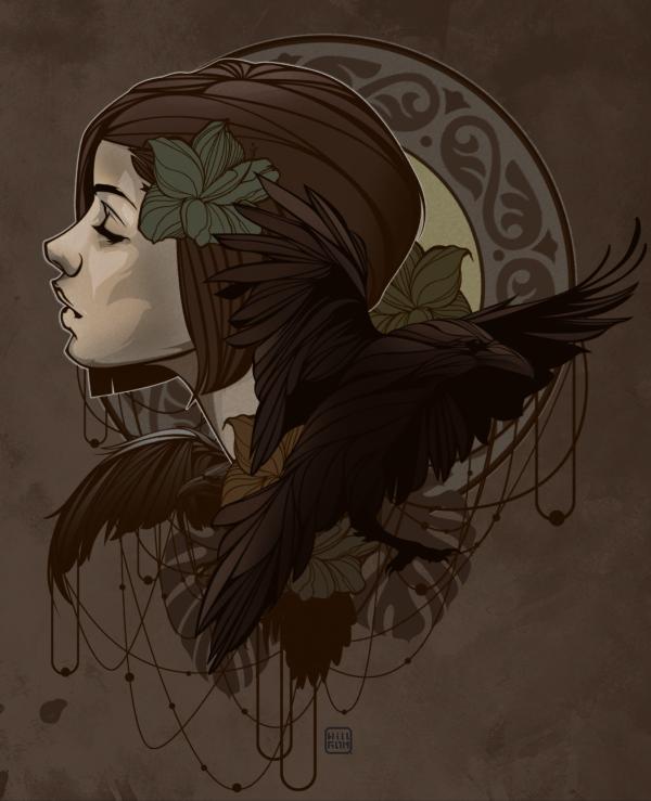 Nouveau, illustration by Willy Gómez
