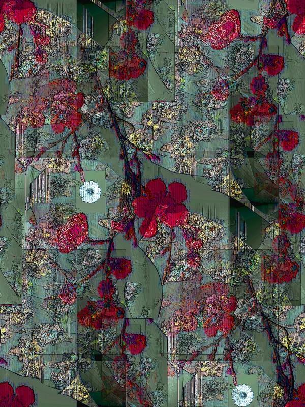 Textile designs by Philip Teague