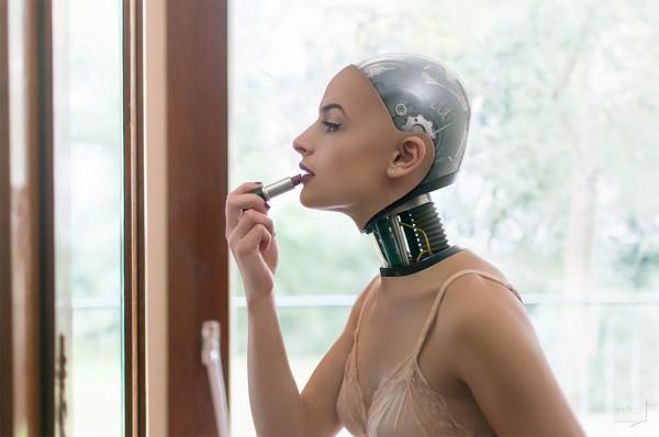 The Robot Next Door, playful and visionary series by Nicolas Bigot