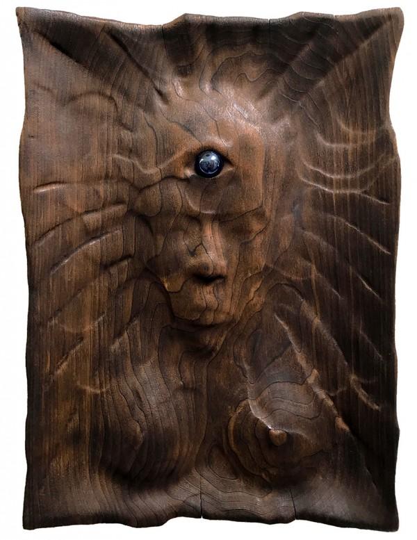 Unique wood sculptures by Chris Isner