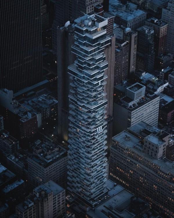 Spectacular aerial urban shots by Sébastien Nagy