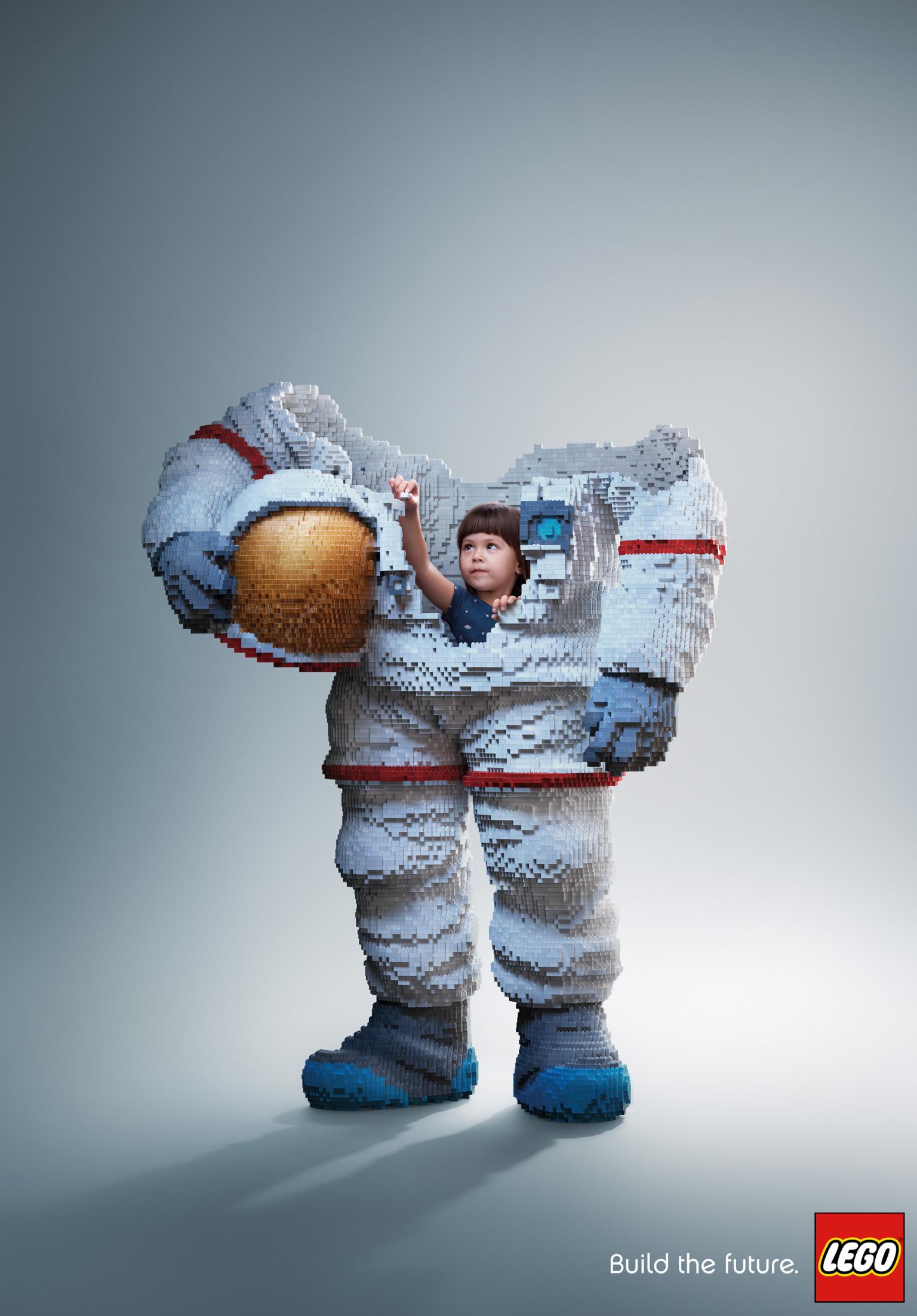 Creative Lego constructions bring fantastical moments to life