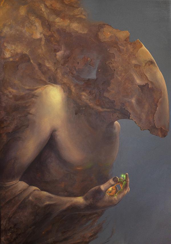 Painting by Bartosz Stępiński