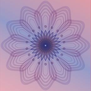 Sakuras - Geometric posters by Silvino González Morales