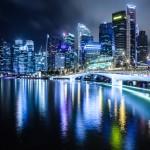 Singapore by night, photography by Zsolt Hlinka