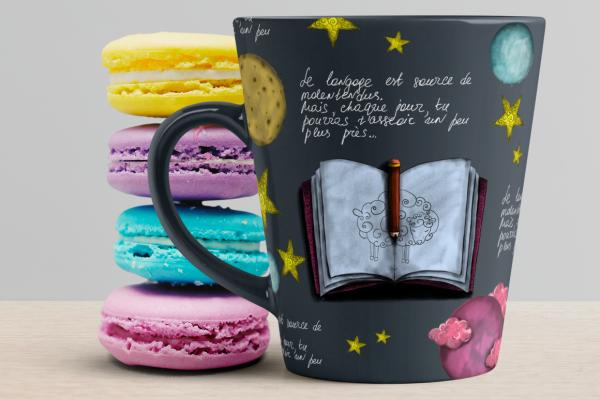 A Little Prince. Fairy tale for Creative Market