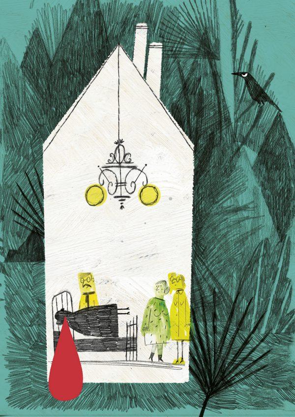 BRUIXES DE FAMÍLIA, illustration by Julio Antonio Blasco López