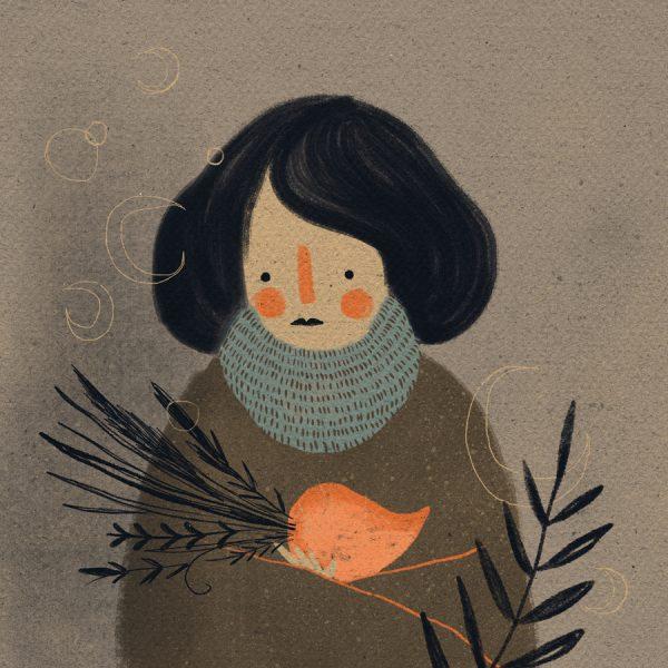 Casinha, illustration by Willian Santiago