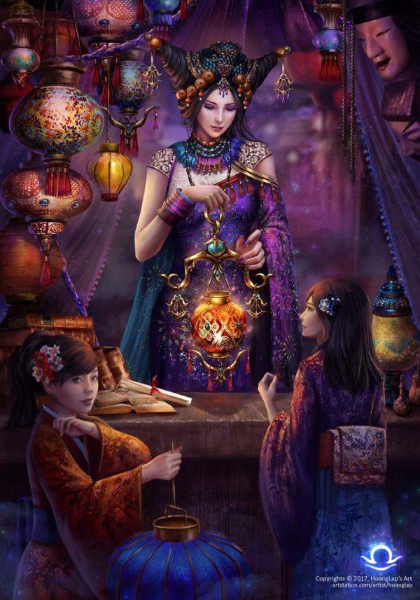 Mystic Constellations series, digital art by Hoang Lap